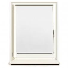 Штора рулонная светонепроницаемая Блэкаут BRABIX 70х175 см, белый/серебро, 606010