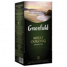 Чай GREENFIELD Гринфилд Milky Oolong Молочный улун, улун с добавками, 25 пакетиков по 2 г, 1067-15