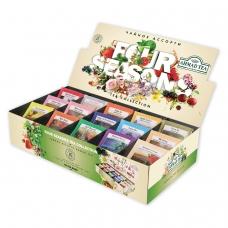 Чай AHMAD Ахмад Four Season's, 90 пакетиков в конвертах по 1,8 г, 15 вкусов, N060