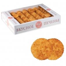 Печенье БИСКОТТИ Творожное, сдобное, 1,8 кг, весовое, гофрокороб