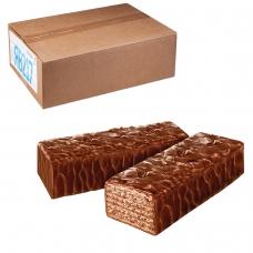 Вафли ЯШКИНО Глазированные с орешками, весовые, гофрокороб, 4 кг, ЯВ217