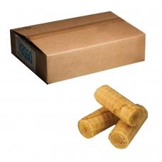 Вафли-рулетики ЯШКИНО со вкусом сгущенного молока, весовые, гофрокороб, 2,5 кг, КВ160