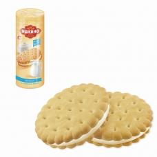 Печенье ЯШКИНО Со сливочным кремом, затяжное, 182 г, МП426