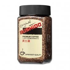 Кофе растворимый BUSHIDO Original, сублимированный, 100 г, 100% арабика, стеклянная банка, 1004
