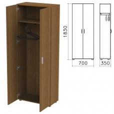 Шкаф для одежды Канц, 700х350х1830 мм, цвет орех пирамидальный, ШК40.9