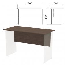 Столешница, царга стола письменного Канц 1200х600х750 мм, цвет венге, СК22.16.1