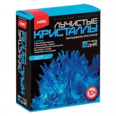 Набор для изготовления лучистых кристаллов Синий кристалл, реагент, краситель, основа, LORI, Лк-002