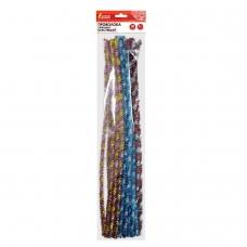 Проволока синельная для творчества Блестящая, спираль, 6 цв., 30 шт., 0,6х30 см, ОСТРОВ СОКРОВИЩ, 661528