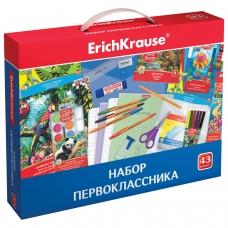 Набор для первоклассника в подарочной упаковке ERICH KRAUSE, 43 предмета, 45413